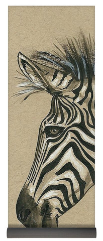 Zebra Profile - Yoga Mat