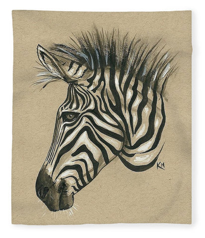 Zebra Profile - Blanket