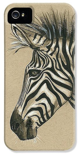 Zebra Profile - Phone Case