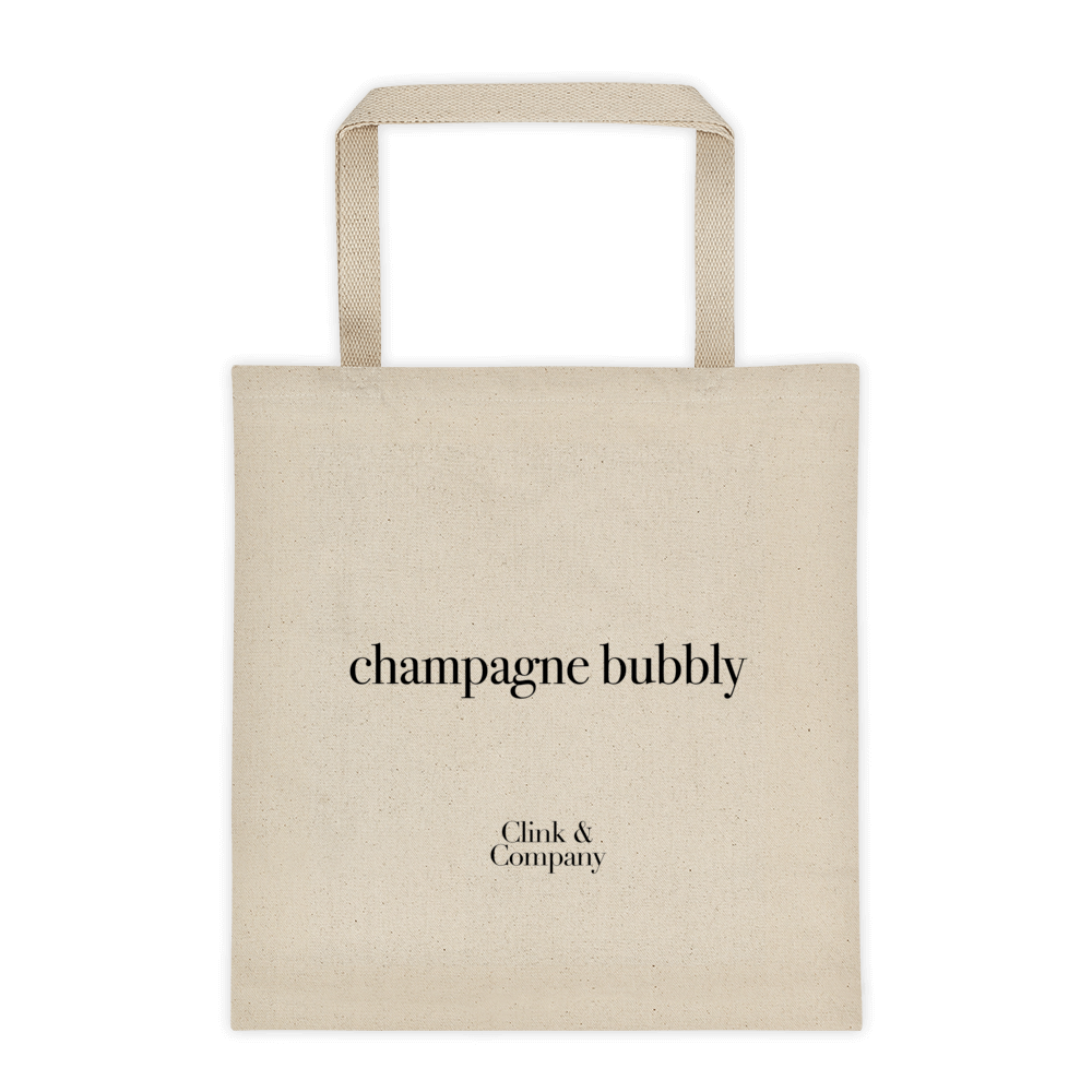 Champagne Bubbly Tote