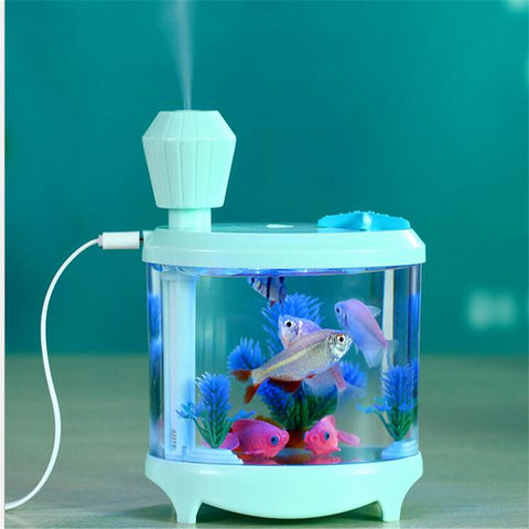 USB LED Light humidifier