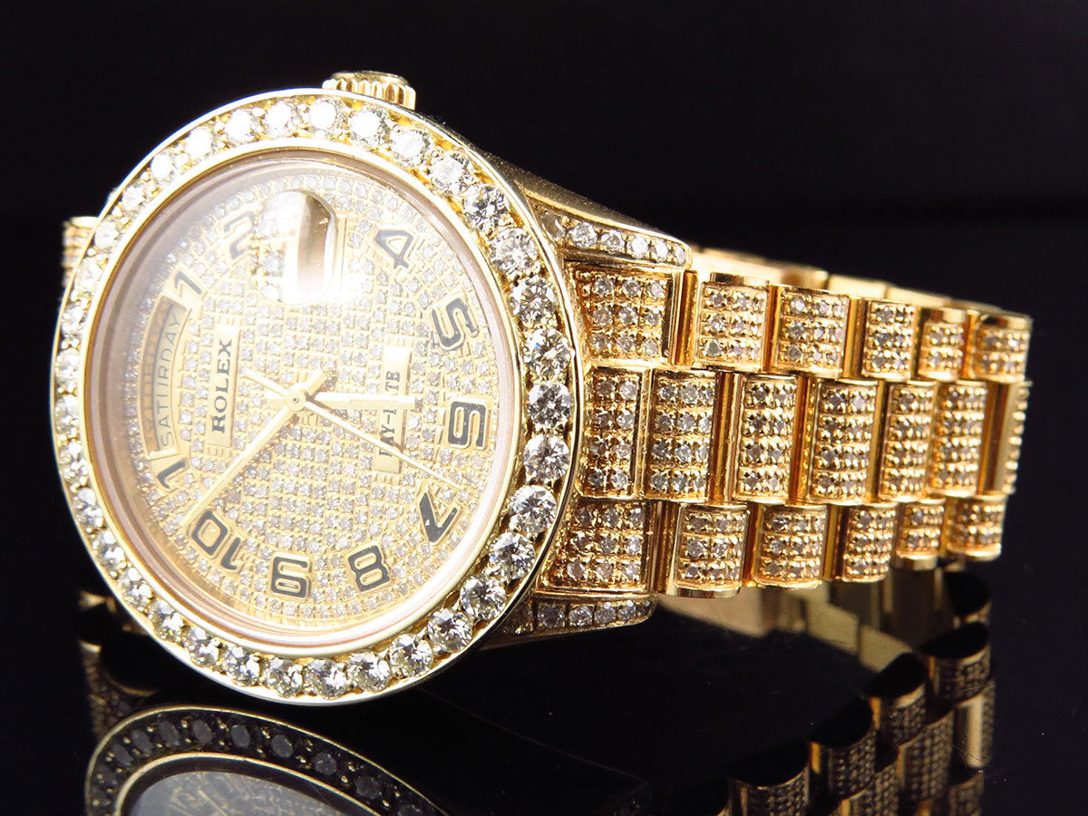 classical vanguard rose diamond frost gold of watches full image from