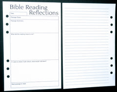 Starfish Living Planner Insert - Bible Reading Reflections