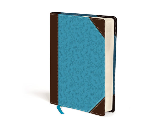 Bible - NIV Journal the Word Brown and Turquoise