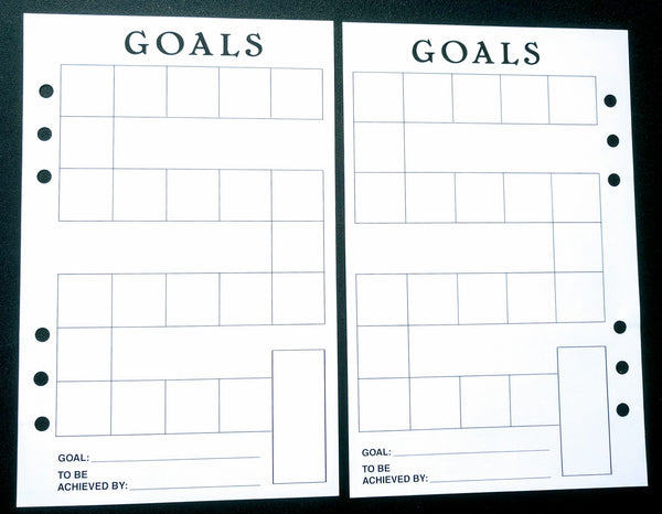 Starfish Living Planner Insert - Goals