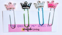 "Starfish Living ""The Queen in Me"" Decorative Paperclips"