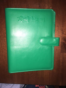 Starfish Living Kelly Green Binder Only