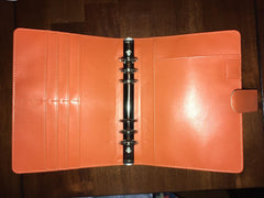 Starfish Living Harvest Orange Binder Only