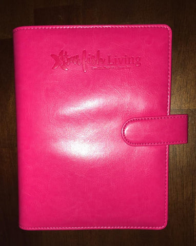Starfish Living 6-Ring Binder - Miami Pink