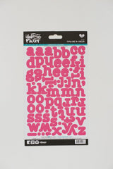 Illustrated Faith Stickers - Typed Letters One in a Melon
