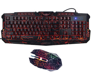 Thunderbolt Gaming RGB Keyboard + Mouse (Pixel-Gamers Exclusive)