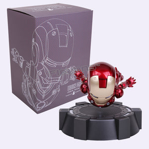 IRON MAN MK MAGNETIC FLOATING ver. with LED Light Action Figure