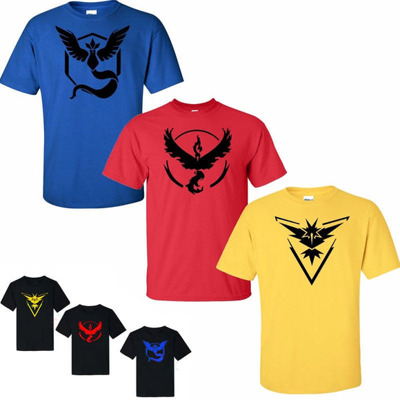 Pokemon Go Crews Mens Slim Fit T-shirt