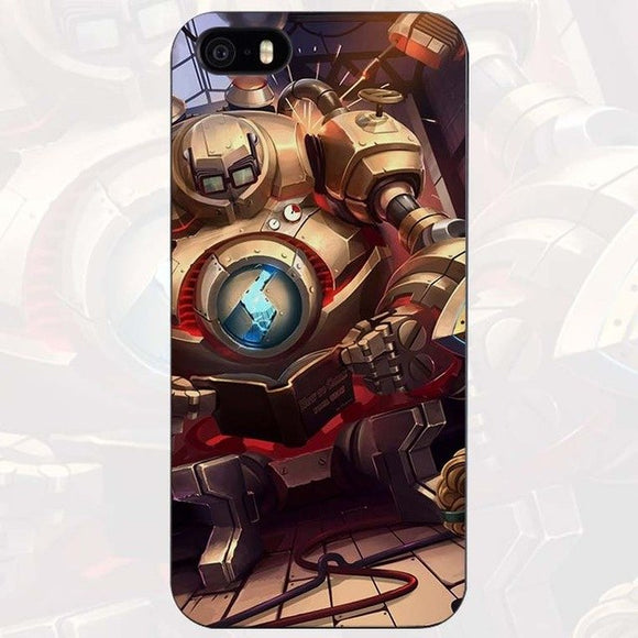 League Legends lol Blitz  Case for iPhone Apple 4 4s 5 5s SE 5c 6 6s 7 Plus