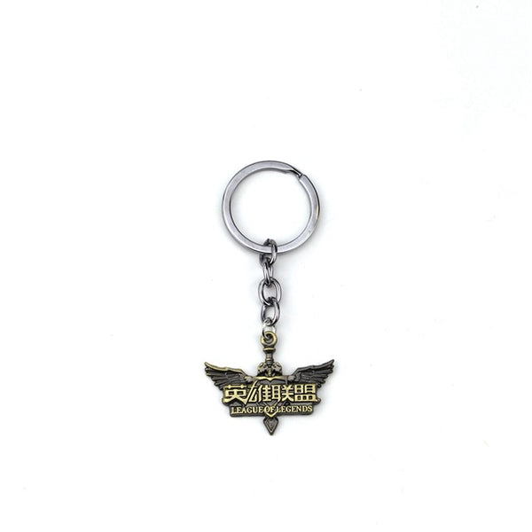 Division Badge Key Chains
