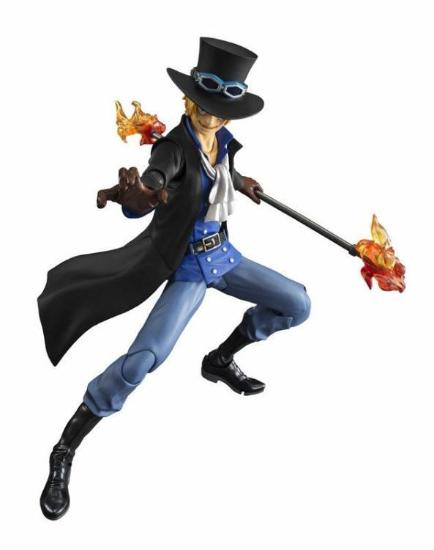 18cm Sabo One Piece Movable joints Action Figure