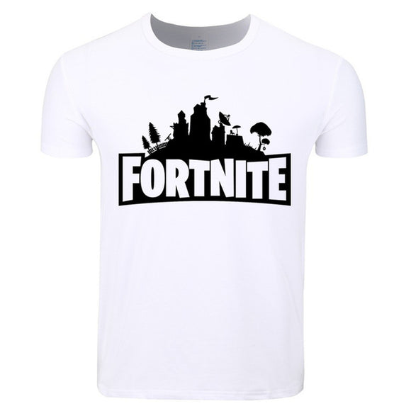 White Fortnite Shirt