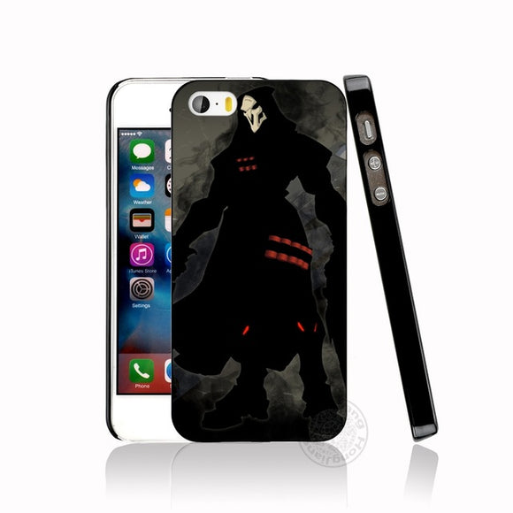 Reaper Overwatch Case for iphone 6 4 4s 5 5s SE 5c 6 6s 7 8 plus case for iphone 7 X