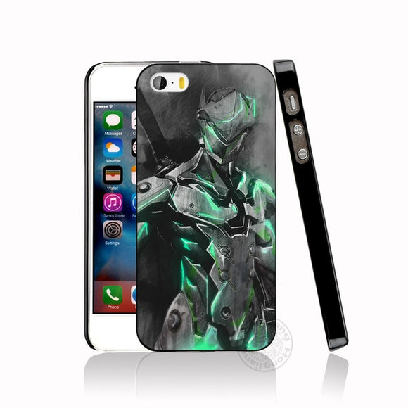 Genji Overwatch Case for iphone 6 4 4s 5 5s SE 5c 6 6s 7 8 plus case for iphone 7 X