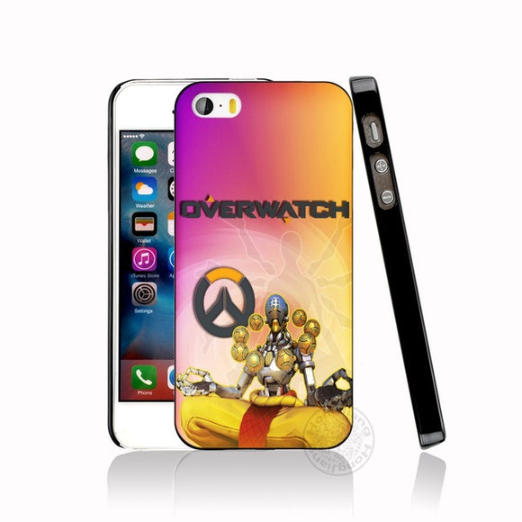 Zenyatta Overwatch Case for iphone 6 4 4s 5 5s SE 5c 6 6s 7 8 plus case for iphone 7 X