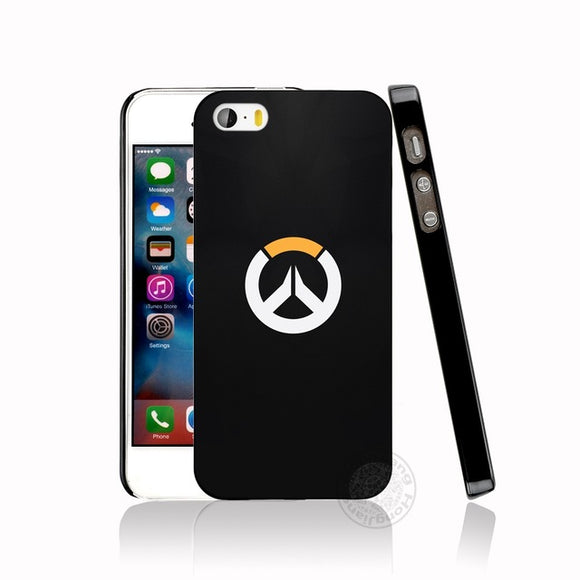Overwatch Phone Cover for iphone 6 4 4s 5 5s SE 5c 6 6s 7 8 plus case for iphone 7 X