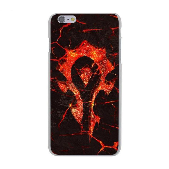 Warcraft Hord Phone Case for Apple iPhone X 8 7 6 6S Plus 5 5S SE 5C 4 4S 10 Cover