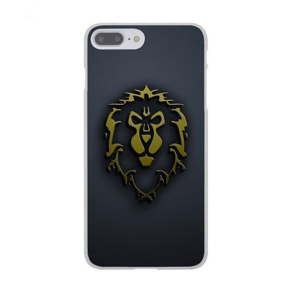 Alliance World of Warcraft Phone Case for Apple iPhone X 8 7 6 6S Plus 5 5S SE 5C 4 4S 10