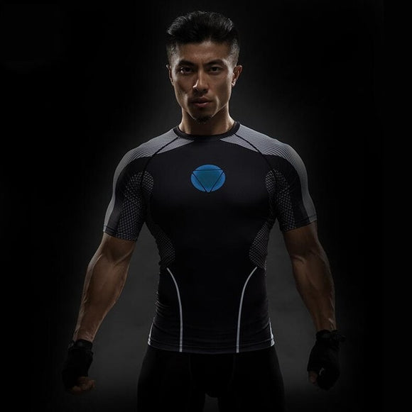 Tony Stark Fitness T Shirt