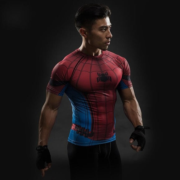 Spiderman Fitness T Shirt