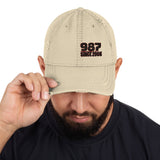 Porsche 987 Distressed Baseball Cap