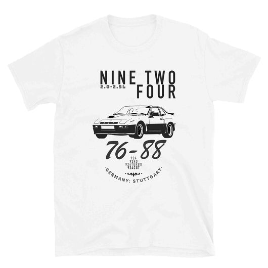 This is our classic Porsche 924 Outlaw Shirt. The premium image of the legendary 924 Carrera GT really makes this shirt pop. Porsche 924 T-Shirt, Porsche 924 Shirt, 924 Apparel, Tee, 924 CGT, Gift, Gift for him, Vintage Car Shirt, Classic Car Gift. The old-school design give this vintage Porsche T-Shirt a timeless look making it the ideal Porsche accessory accompaniment.