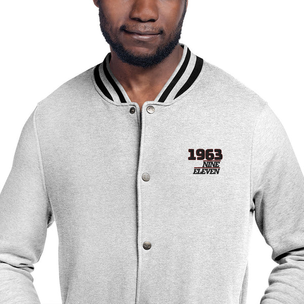 Porsche 1963 Classic Embroidered Champion Bomber Jacket