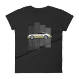 Porsche Classic Women's Retro T-Shirt This is our super comfortable Porsche Classic Women's T-Shirt. The premium image is of the legendary 964 really makes this shirt pop with color. Womens Porsche Shirt, womens Porsche Apparel, Womens porsche  tee, womens porsche gift.