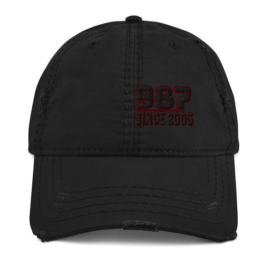 Porsche 987 Distressed Baseball Cap Expand your headwear collection with this fashionable dad hat. With a slightly distressed brim and crown fabric. Distressed Porsche 987 Cap, Porsche Baseball Cap, Porsche 987 Gift, Valentines Porsche Gift, Porsche Birthday Gift, Porsche 987 Vintage baseball Cap.