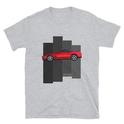 Retro Outlaws classic Ferrari-inspired T-Shirt. Ferrari 575 T-Shirt, Ferrari Gift, Ferrari Mens T-Shirt, Ferrari Shirt, tee. This is our classic Ferrari-inspired Classic tribute shirt. The premium side shot of the sleek Ferrari 575M really makes this shirt pop. The unique design has a timeless look making it the ideal Ferrari accessory accompaniment and must-have fashion basic for every closet. Ideal Ferrari Gift.