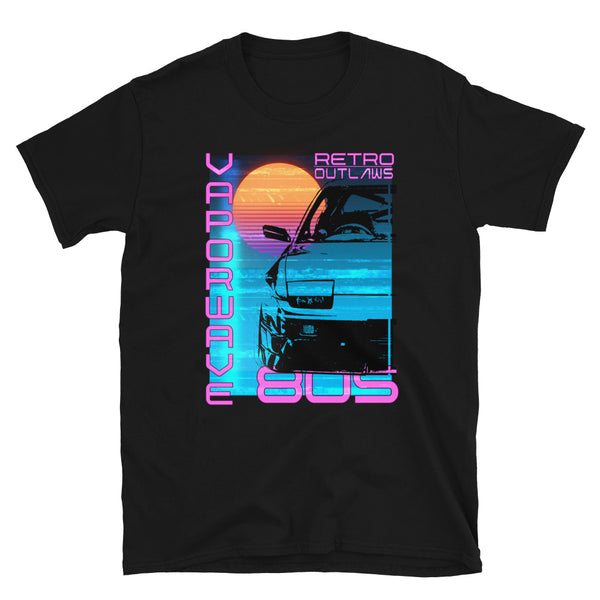 Retro Futurism Vaporwave T-Shirt At Retro Outlaws we love all things 80's from the music to the retro designs. Aesthetic Shirt, Vaporwave Shirt, Vaporwave Apparel, Vaporwave tee, Vaporwave Gift, Vaporwave poster. This is our Vaporwave Shirt that is inspired by the 80's aesthetic synth-style. This 80's graphic t-shirt is a perfect gift for Synthwave, Vaporwave, Aesthetic, Retrowave, Darkwave, Futuresynth, Retrofuturism.