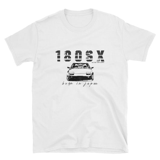 This is our cool JDM Nissan 180sx T-Shirt, Classic 180SX, 180sx t-shirt, 180sx, nissan 180sx, 180sx tee, 180sx drifting, 180sx stance, 180sx car gift. Dedicated to those who love the awesome Japanese sports car. The classic 180SX T-Shirt, has a great car design and bold text. The perfect gift for car lovers and fans of the JDM Sports cars.