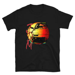 JDM Drift Turbo Classic T-Shirt. JDM T-Shirt, Drift Car T-Shirt, JDM Drift Apparel, JDM Gift, 180sx, 200sx, 240sx, Bugeye, Hawkeye, Classic GC8, Scooby, RX7, Japanese Cars, JDM Nissan 180sx T-Shirt, dedicated to those who love the awesome Japanese sports car. The classic 180SX shirt has a great car design.