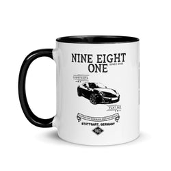 Porsche 981 Cayman Coffee Mug