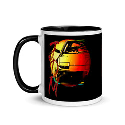JDM Drift Japanese Cars Tribute Coffee Mug. These JDM-inspired ceramic mugs not only have a beautiful 180sx design on them. Ideal for any Japanese sports car fans. Gift for Valentines Day, Groomsmen, Father's Day, Birthdays, Christmas. JDM Mug, JDM Gift, Nissan Mug, Classic Japanese Car Mug, 200sx, 240sx 180sx, JDM Accessories, car coffee mug, anime coffee mugs