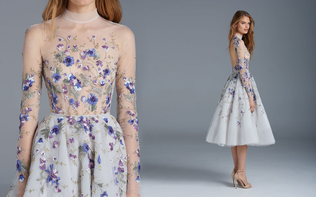 Embroidered Designer Dresses Make Your Standout In The Coming Prom