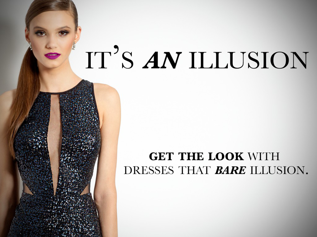 Show Some Skin With Illusion Dresses