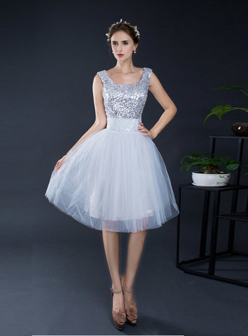 Sliver Homecoming Dresses