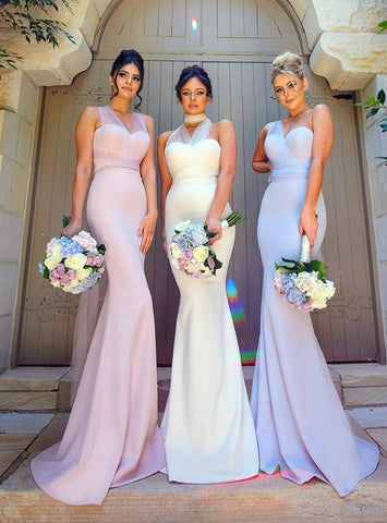 Long Mermaid Wedding Party Formal Gown Gorgeous evening dress