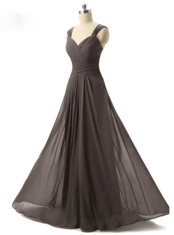 Party Women Evening Gown Cap Sleeve Simple Long Evening Dress