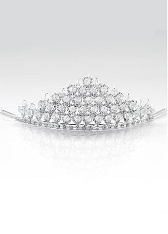 Rhinestones & Alloy & Man-made Pearl Tiara For Your Fabulous