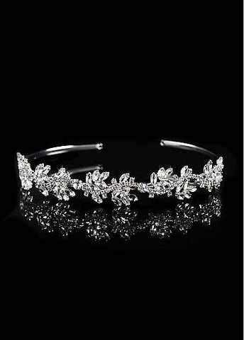 Cheap Elegant Alloy Wedding Tiara With Rhinestones