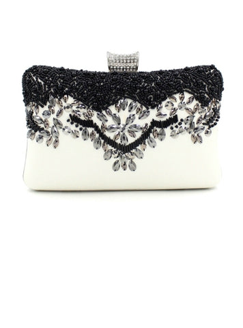 Cheap High-grade Beading Decoration Evening Clutch
