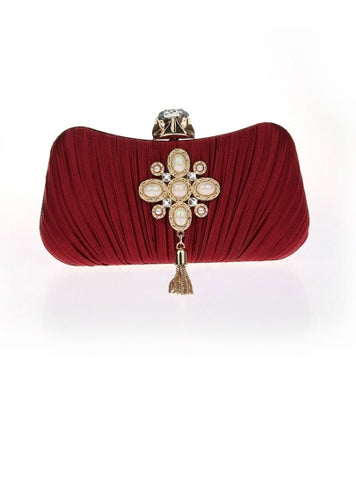 Simple Graceful Exquisite Pendant Evening Clutch