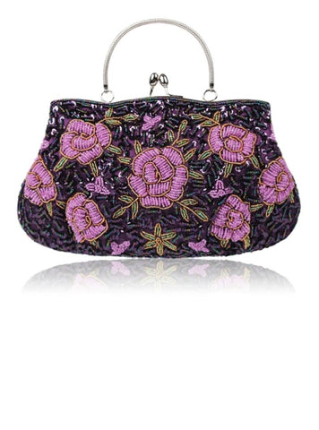 Cheap Elegant Embroidery Handmade Beads Women Clutch